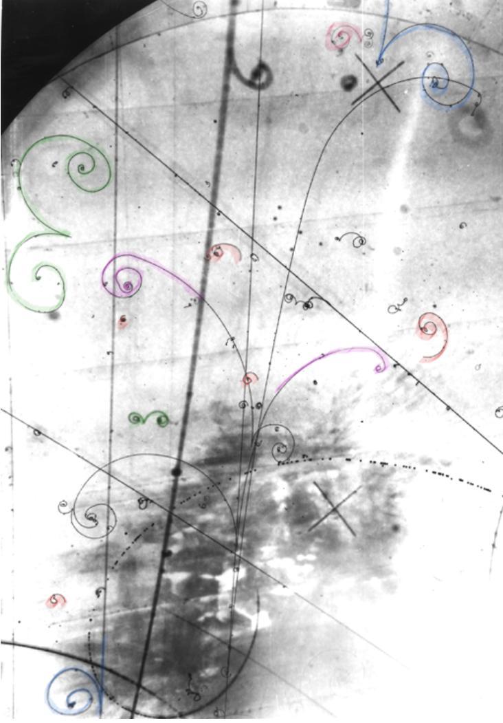 Resultado de imagen de Electrón y Positrón